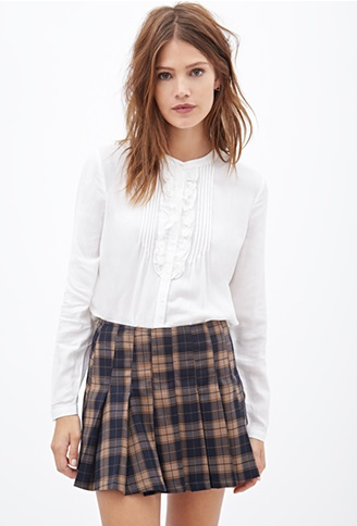 Forever 21 - Classic Ruffled Top