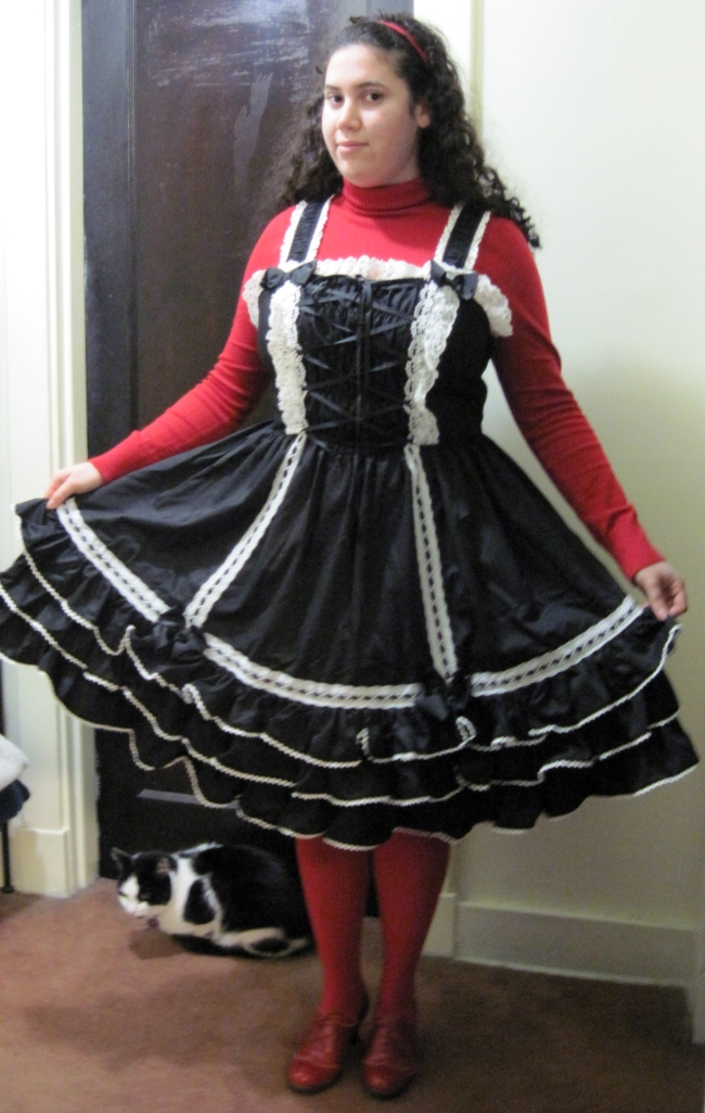 Extra room for more petticoat volume