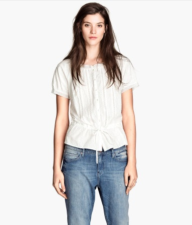 H&M - Lace Blouse