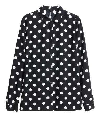 H&M - Long-sleeved Blouse