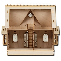 Greenleaf - half scale Diana dollhouse kit